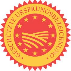 Logo: Geschützte Ursprungsbezeichnungen